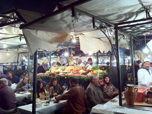 Street food in Marrakesh