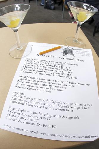 Vermouth Class Martinis