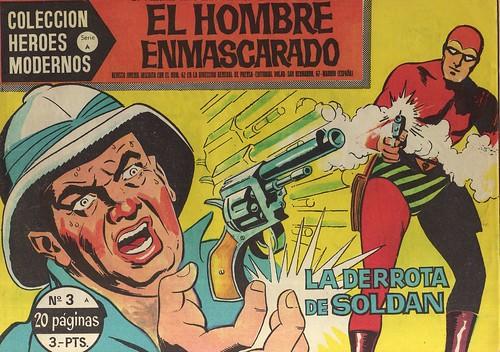 032-El hombre enmascarado-nº3- Coleccion Heroes Modernos