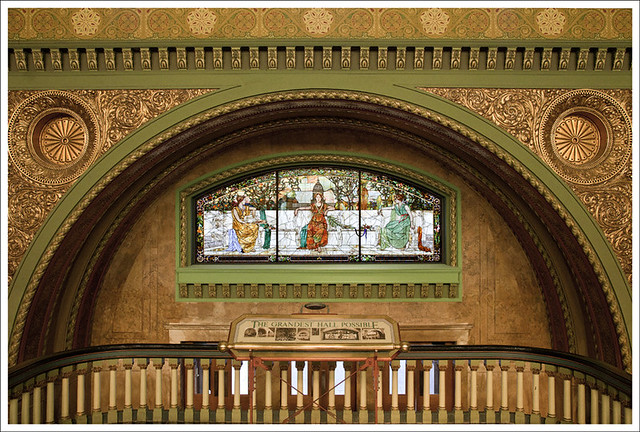 Union Station Great Hall 2 - Allegory Window
