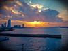 Osaka Sunset (dabuda) Tags: japan osaka 2010 cotcpersonalfavorite