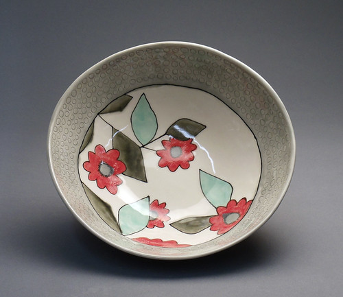 red dahlia bowl2