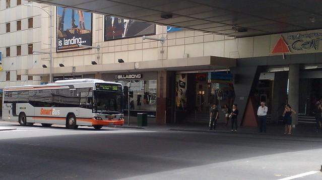 Smartbus in Lonsdale Street