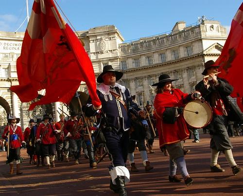 Charles I parade - 07