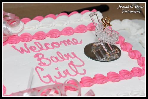 Justine's Baby Shower Cake