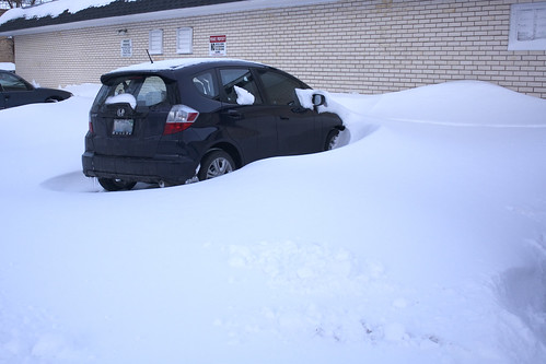 My car is stuck.