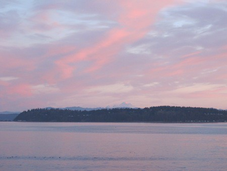 Camano Island and Mount Baker