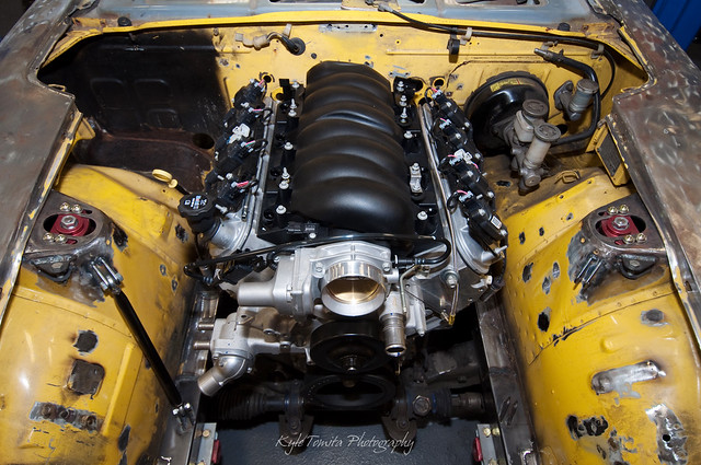 E-Rod LS3 in a Datsun 280Z