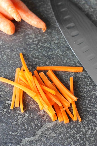 How to: Julienne a Carrot (Matchstick Style)