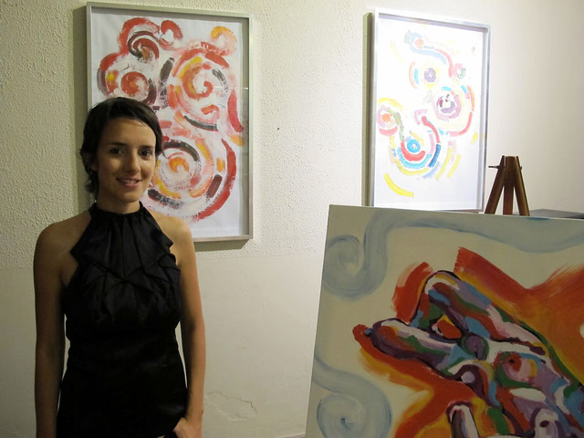 My first solo art show!