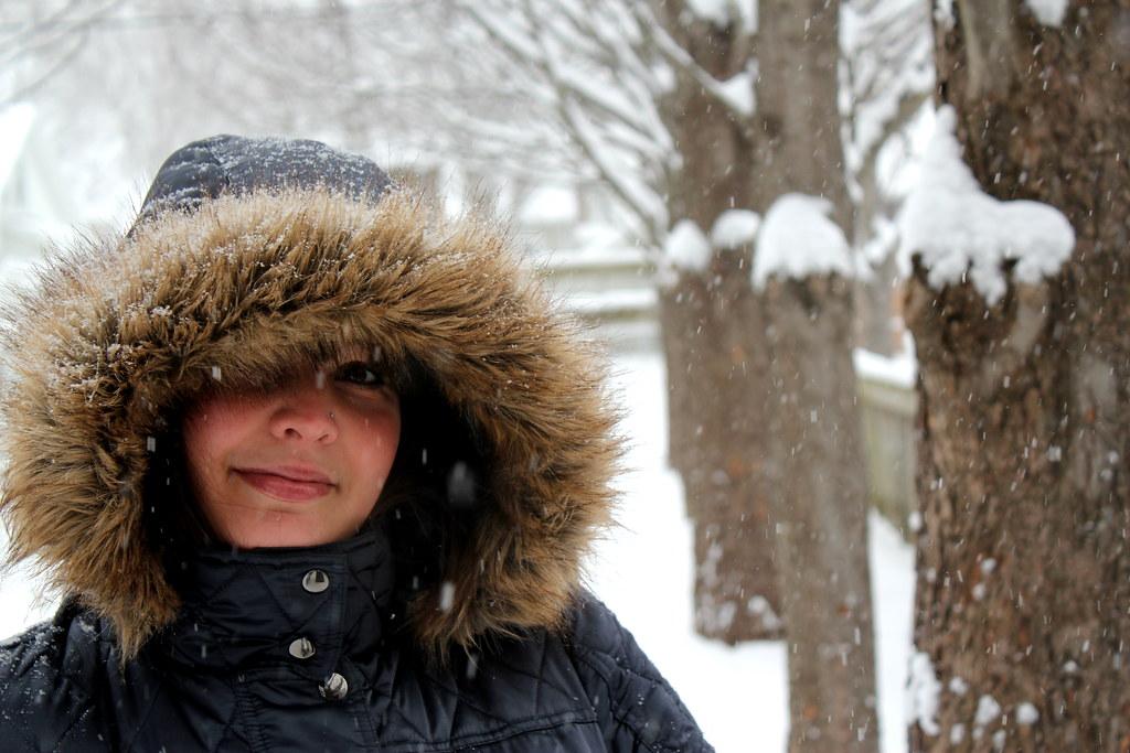 snowy me
