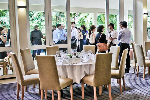 The New Zealand Trade & Enterprise held a media lunch at the New Zealand Residence