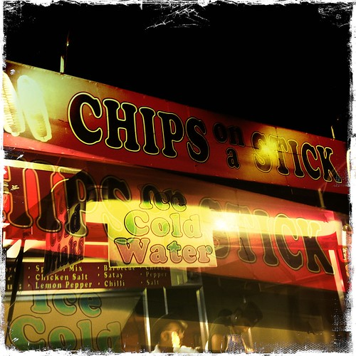 Chip on a stick
