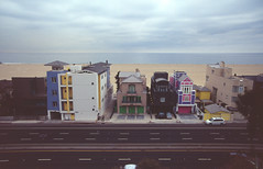 Santa Monica, CA (jacqueline.poggi) Tags: ocean california usa beach losangeles pacific santamonica unitedstatesofamerica pacificocean beachhouse californie ocan etatsunis pacifique ocanpacifique palissades maisondeplage