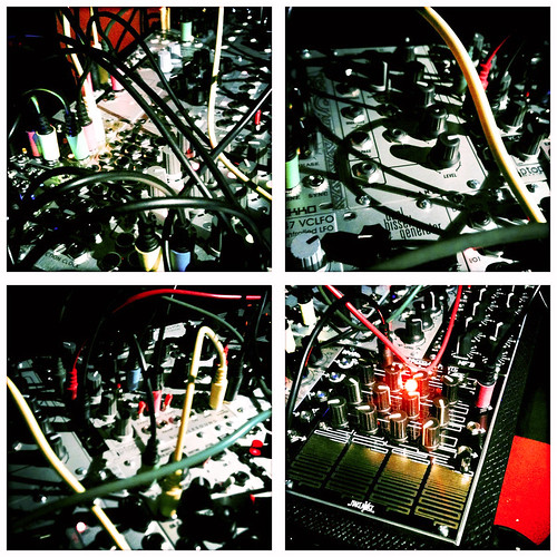modular synth, in fourths