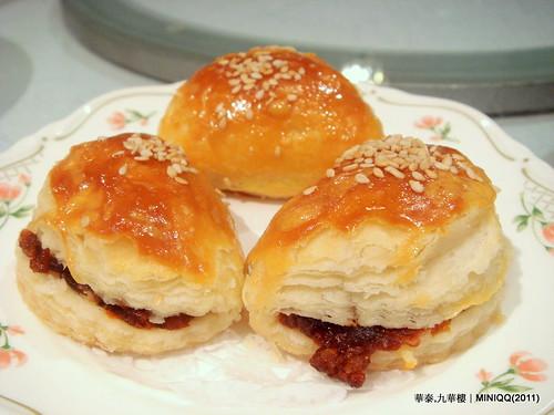 20110209 華泰飯店九華樓_08 金牌叉燒酥(3/NT.95)
