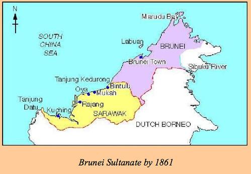 Brunei sultane 1861