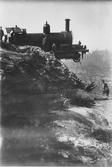 Derailment on the Zig Zag railway