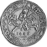 Archduke Sigismund Rich coin reverse