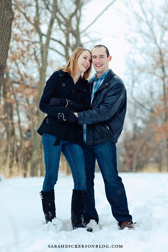 Shawnee Mission Park Kansas engagement photographers