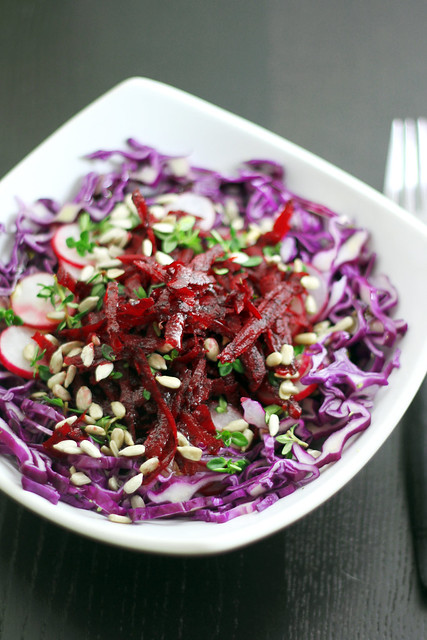 Red Cabbage, Radish and Beetroot