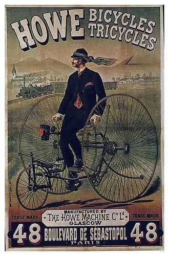 005-Carteles de bicicletas antiguas