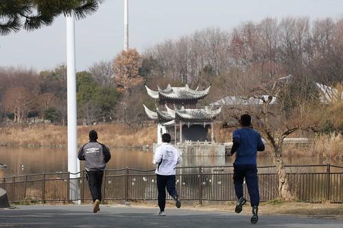 どこまで走る? / Cold-resistant running