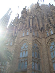 La Sagrada Familia (Don't call me Antoine) Tags: espaa spain bcn sagradafamilia