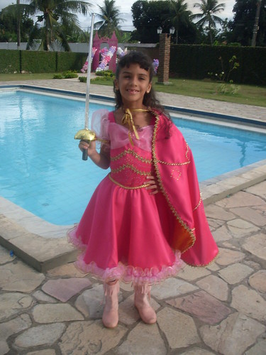 Fantasia Barbie Mosqueteira (Corinne)