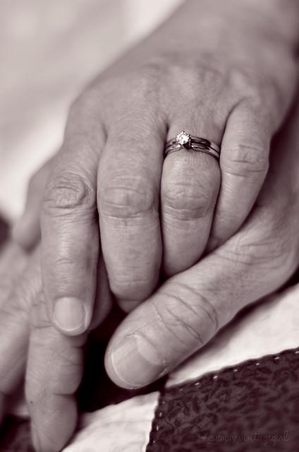 Loving hands...