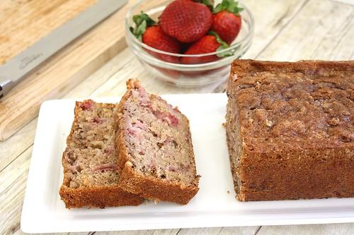 Strawberry Quick Bread Recipe Walnut-strawberry Quick Bread