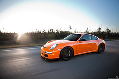 RennSport (Stephan Bauer) Tags: sunset orange race driving miami 911 porsche bauer everglades stephan rs gt3 997 rennsport