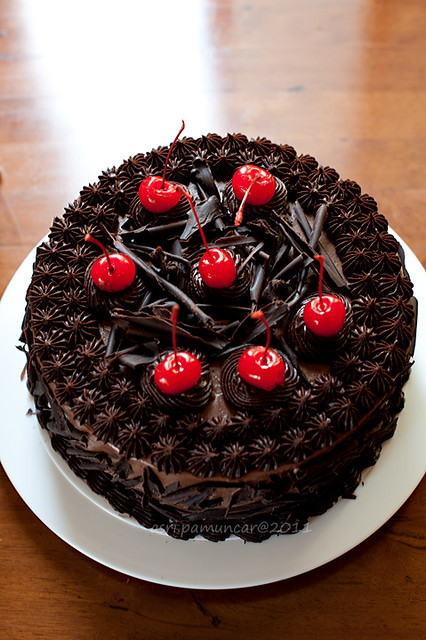 chocolate b'day cake