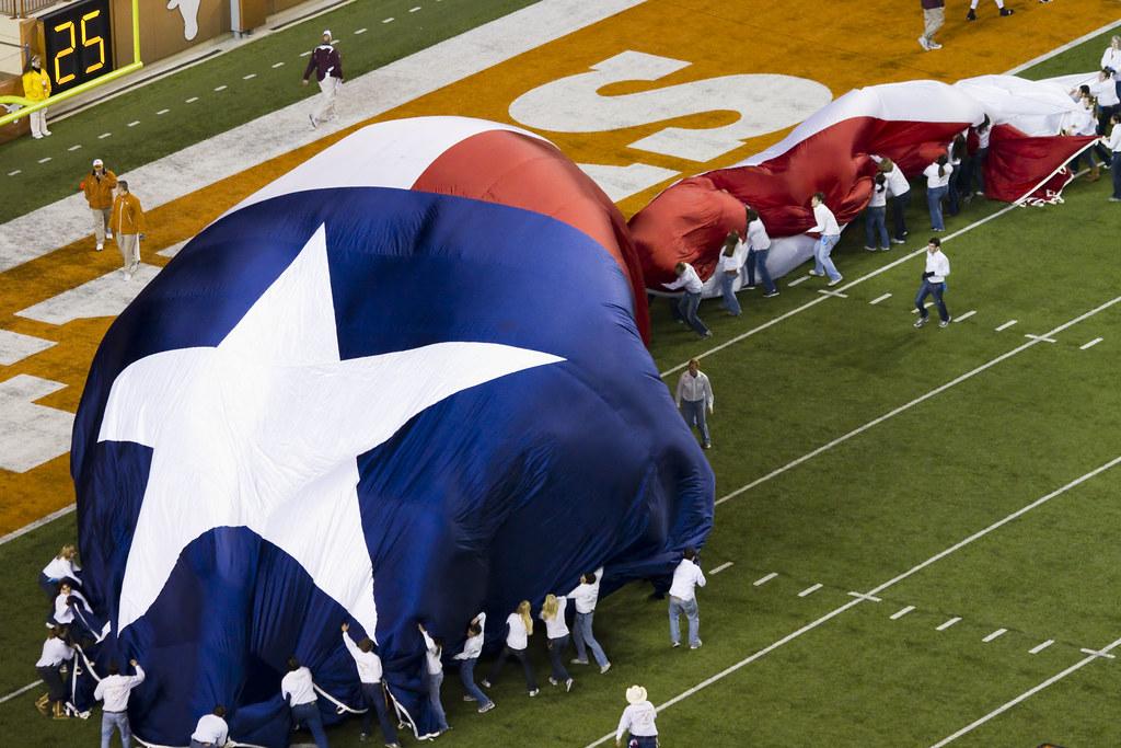 Texas Longhorns Pre-game Activities