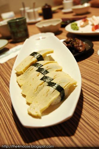 Shin Yuu - Tamago Nigiri Sushi