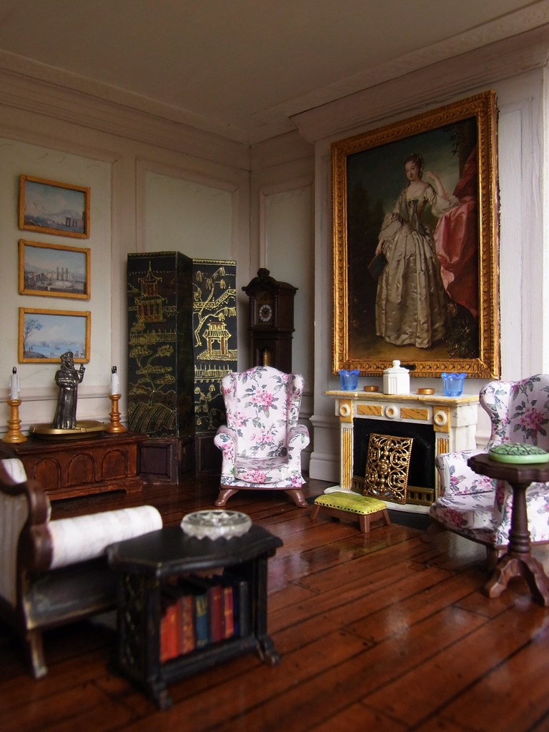 An English Country Sitting Room