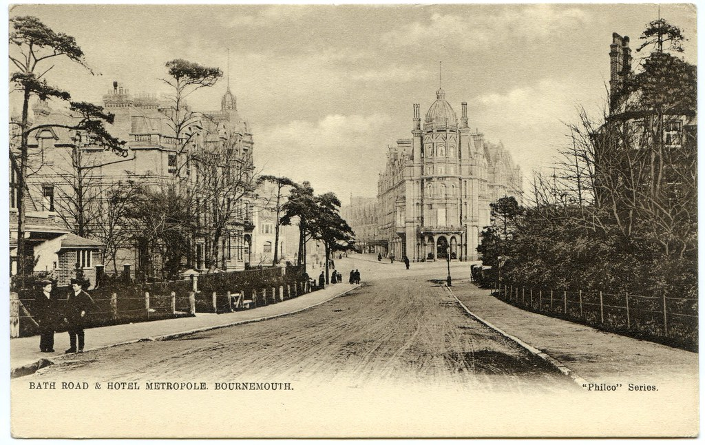 The Queen Hotel, The Metropole Hotel, and the Imperial Hotel, Bournemouth