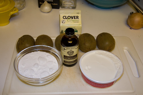 Kiwi Tart Ingredients