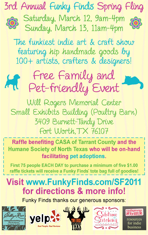 3rd Annual Funky Finds Spring Fling