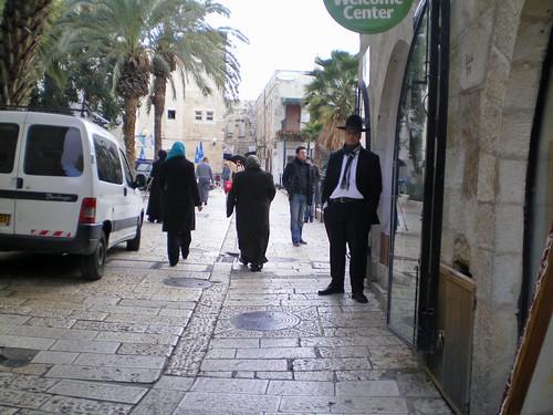 197 Jewish Qtr street scene
