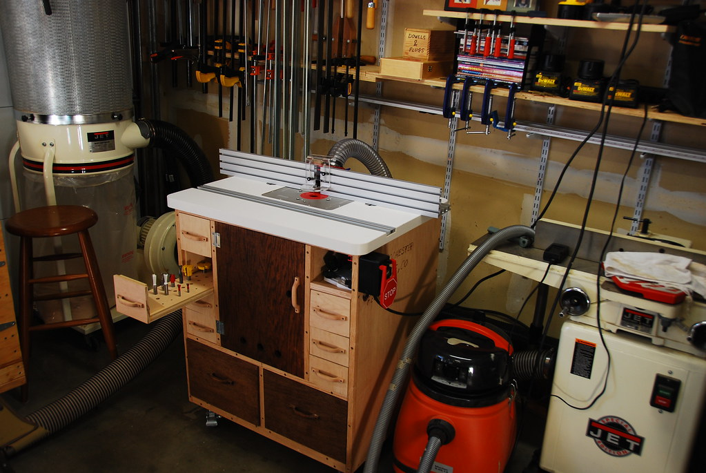 Dick's Router Table -- Shop Furniture