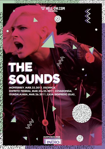THE SOUNDS TOUR MEXICO 2011 POR HELLOW