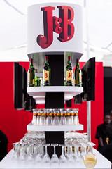 Eco Material for Display at J&B Metropolitan Race Day