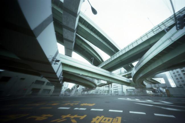 Osaka Awaza Highway Junction