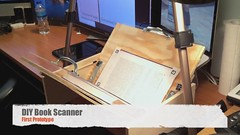 Book Scanner: First Prototype