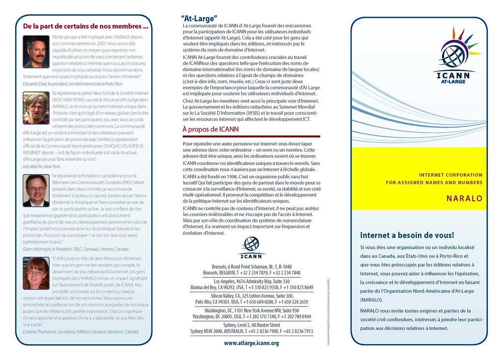 Brochure NARALO 2011 tri-plié - 1