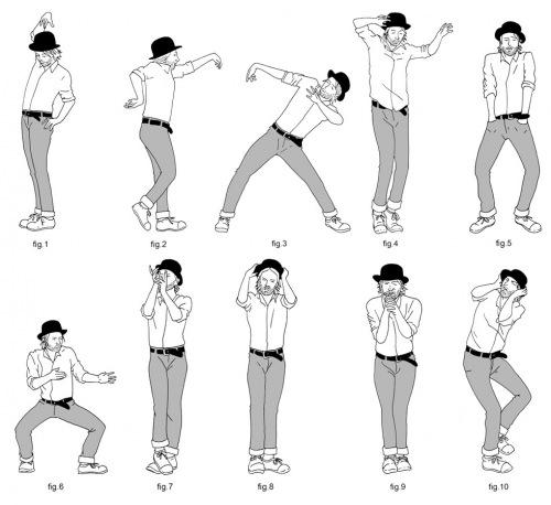 Thom Yorke Dance Skills