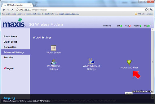Securing Wireless Network Using Maxis WiFi Modem Step 13