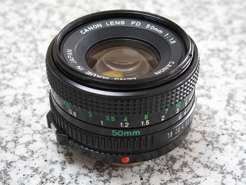 New FD50mm f/1.8