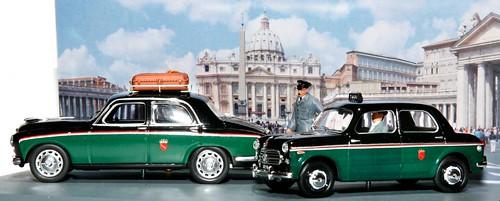 Rio set taxi Roma